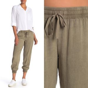 Anthropologie | Cloth & Stone Olive Easy Jogger XS